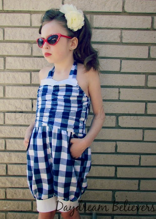 Daydream Believers for CKC Sandys Rockabilly Romper 5