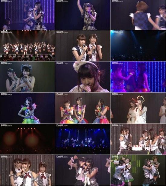 "[TV-Variety] NMB48 チームM ""RESET"" 高野祐衣の生誕祭 141210"