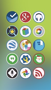 Circly - a Circle Icon Pack- screenshot thumbnail