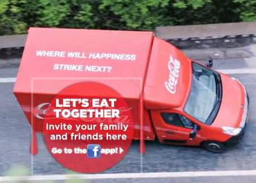 Coca-Coca Wants Us To Eat Together at The Happiness Table