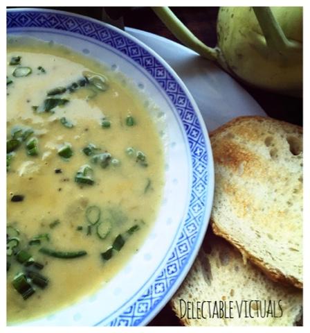 bestkohlrabi recipes Cream of Kohlrabi Soup