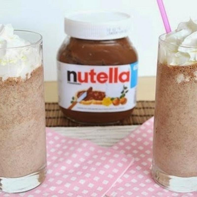 Milkshake με Nutella