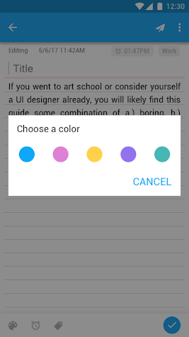 Notepad - Notes with Reminder, ToDo, Sticky notes Screenshot
