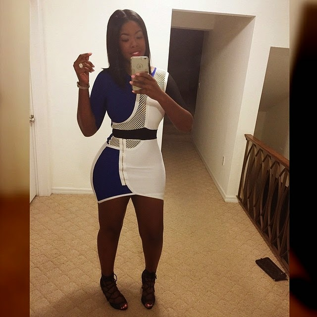 Juju  Looking Stunning In Short Dress