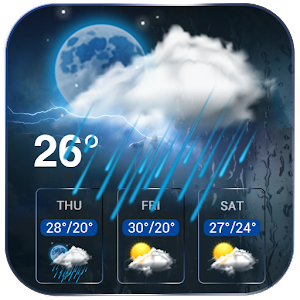 Daily Weather Forecast on Homescreen For PC