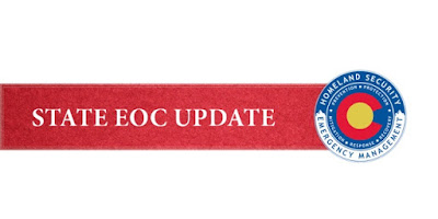 graphic stating State EOC update