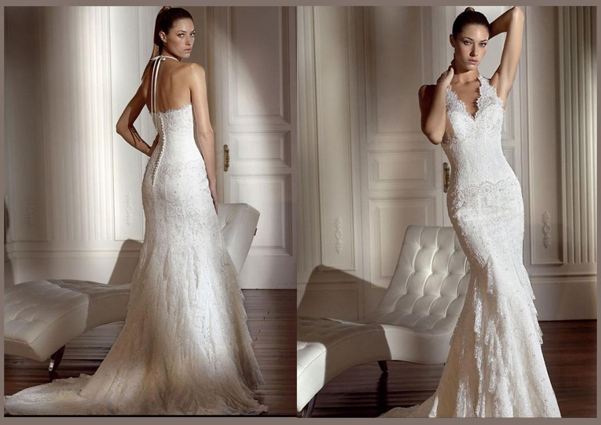 WHite Wedding Dress all