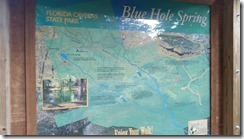 Blue Hole Spring Trail Map