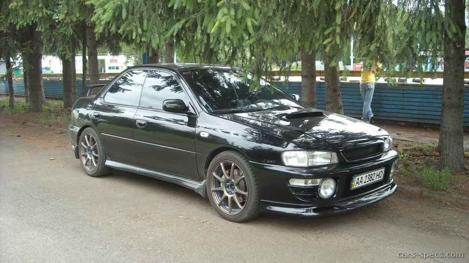 1998 subaru impreza sedan specifications pictures prices. Black Bedroom Furniture Sets. Home Design Ideas