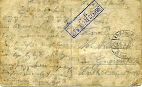 List Bronisława Kubasika do zony Weroniki Kubasik