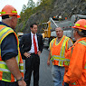 AMVETS Bridge Opening Taconic State Parkway