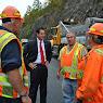 AMVETS Bridge Opening Taconic State Parkway