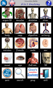 A to Z Anatomy screenshot for Android
