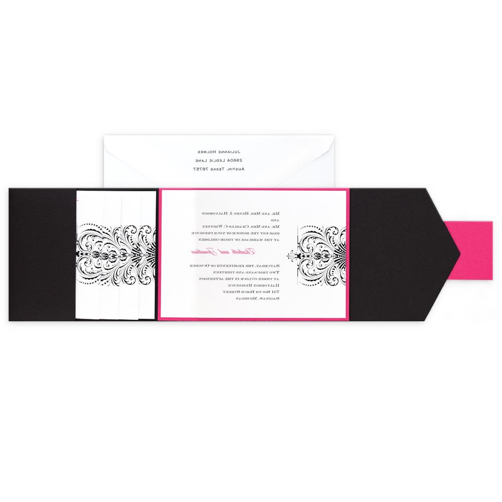 trendy wedding invitations