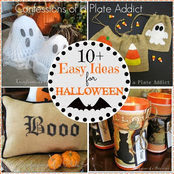 CONFESSIONS OF A PLATE ADDICT 10  Easy Ideas for Halloween
