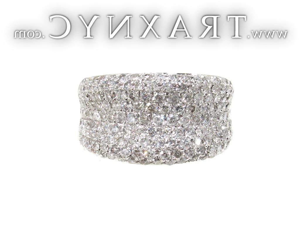 Full Size Picture for Unisex Pave Diamond Ring 21509