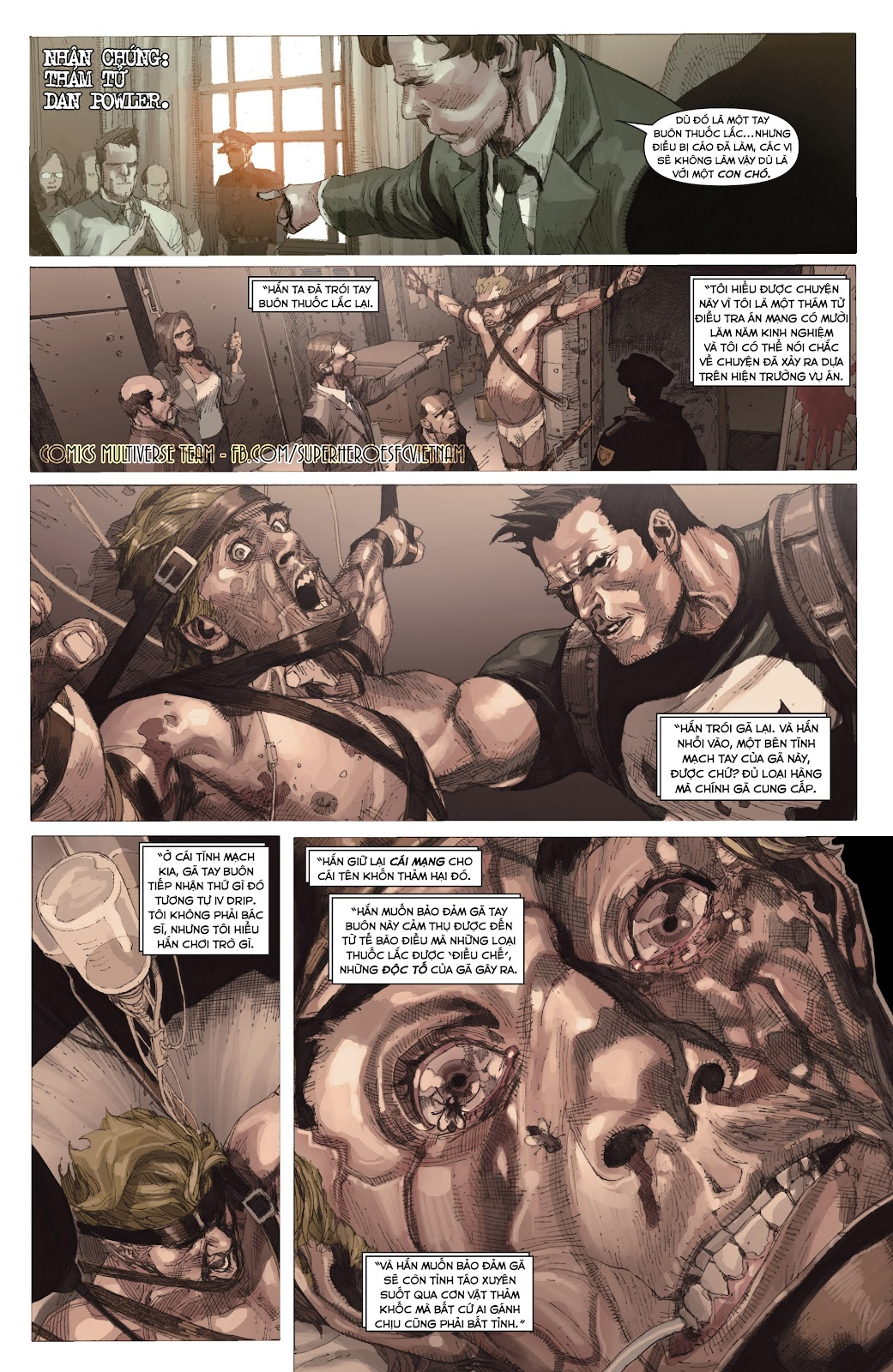Punisher: Trial of the Punisher chap 1 - Trang 22