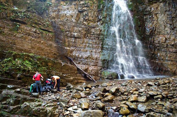 Манявский водопад поход