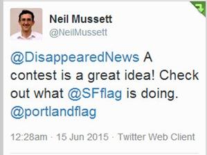 Flag tweet