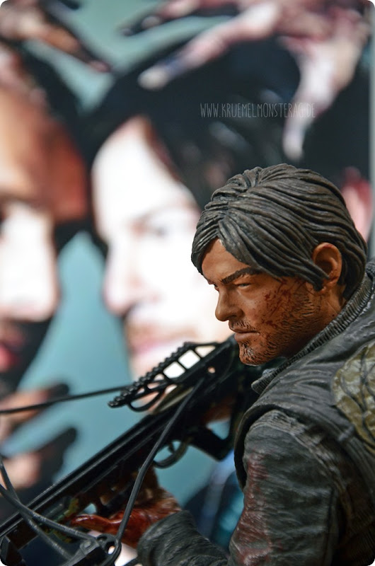 #twd (13) The Walking Dead McFarlane Action Figure Deluxe Daryl Dixon