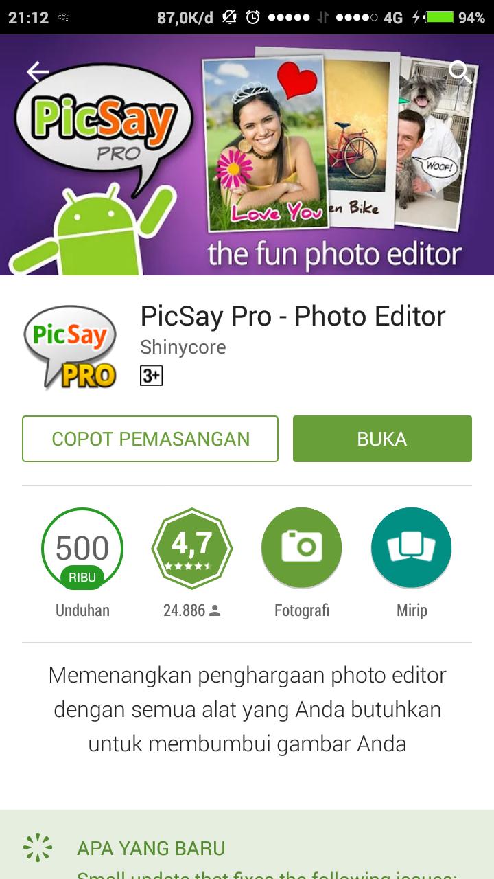 Picsaypro Download Aplikasi Picsaypro Editor Trik Editor