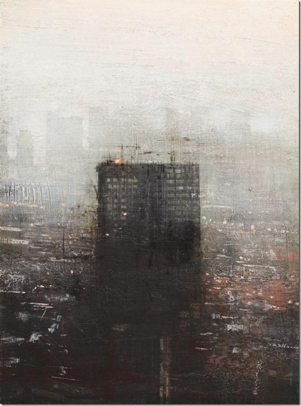 Edificio negro en construcción-Alejandro-Quincoces-ENKAUSTIKOS