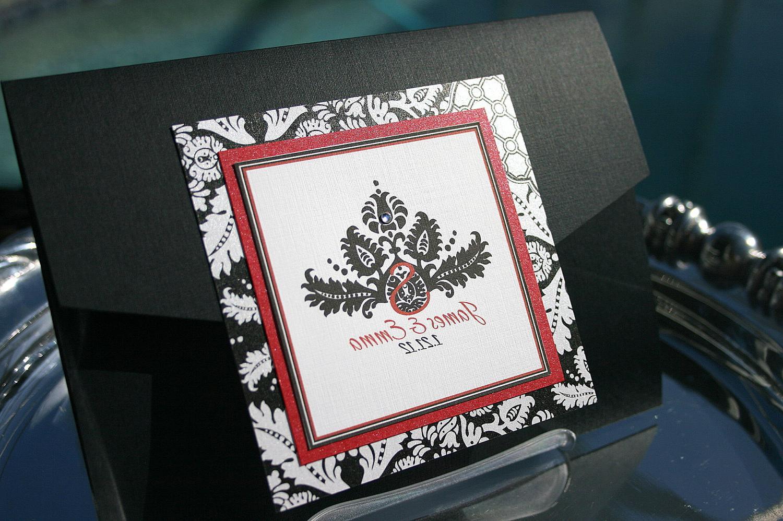 Classic Wedding Invitation. From InspirationsbyAmieLe