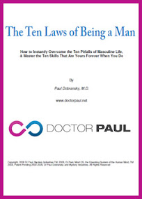 Cover of Dr Paul's Book The Ten Laws Of Being A Man