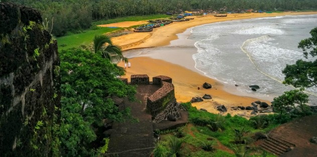 Bekal Fort and Bekal Beach, Kerala