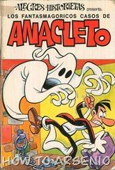 Alegres Historietas 17 Anacleto 04 Los misteriosos casos de Anacleto