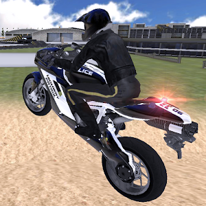 Cover art Police Bike Traffic Rider