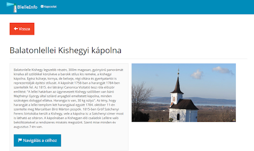 BalatonlelleInfo - screenshot