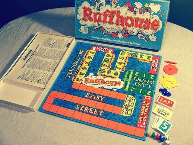 Ruffhouse Board Game Inside