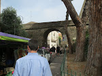 The gate into the old section of Sorrento