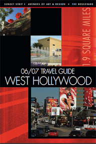 Cover of Joy Of Life's Book West Hollywood Bars Clubs Restaurants List Brochure