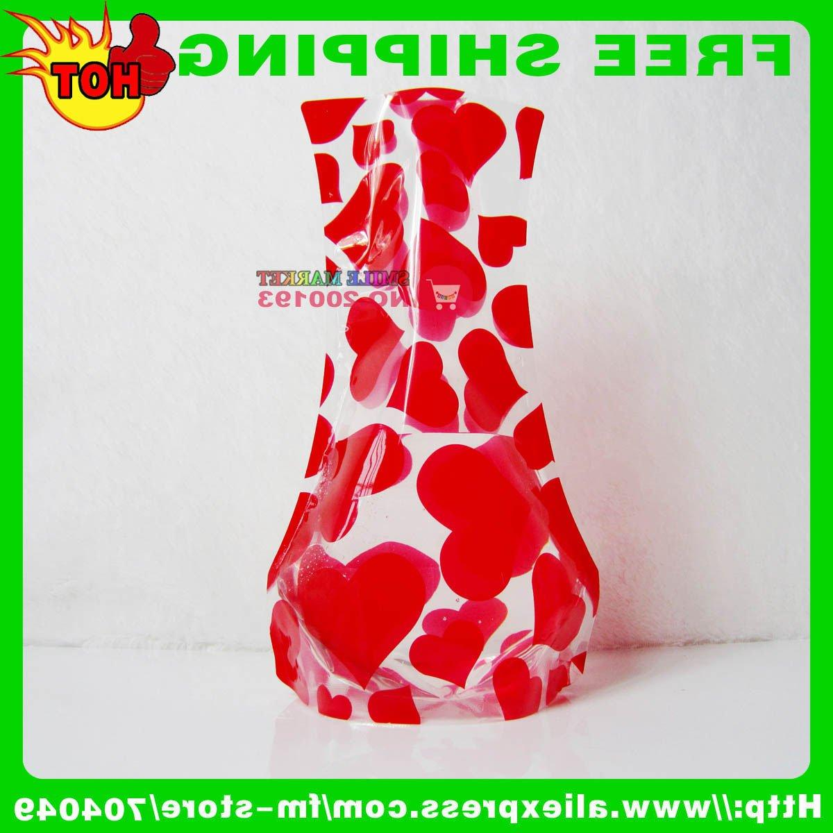 UNBREAKABLE RECYCLABLE FOLDABLE VASE INNOVATIVE WEDDING DECORATION 2011