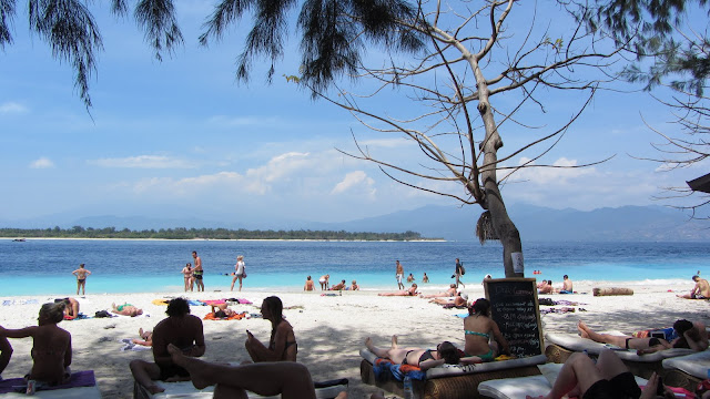 Once exclusively a backpacker's destination, Gili T has recently gone upmarket.