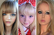 The real face of human Barbie dolls