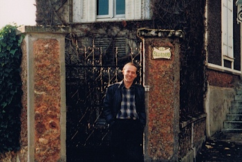 Outside Ravel's House, Montfort l'Amaury, France, 1984