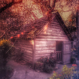 St. Augustine School by Lori Ellen - Digital Art Places