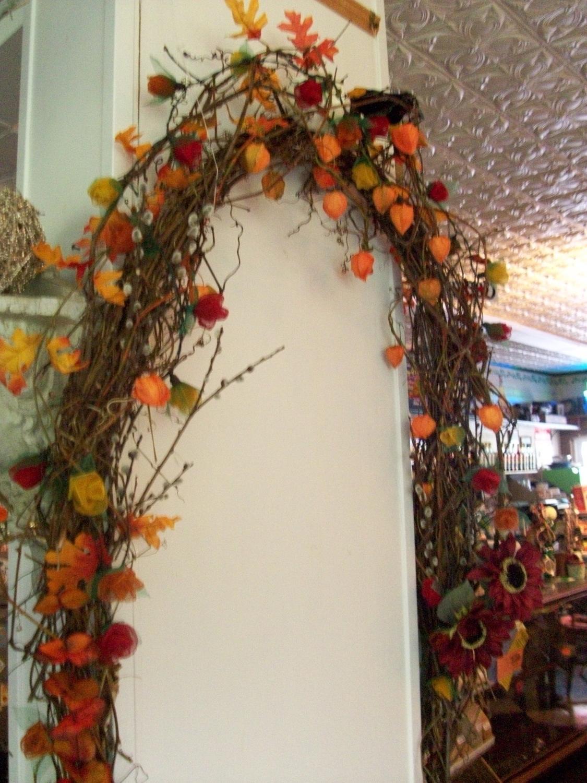 harvest, halloween arbor