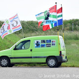 Actie bij NAM in Blijham - Foto's Jeannet Stotefalk