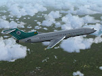 Aero Sur 727 enroute
