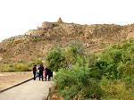 Outside Khor Virap Monastery, near the Turkish border under Mt. Ararat, Armenia.