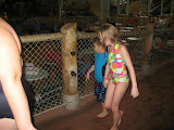 Having fun at Kalahari Water Park in OH 02192012h