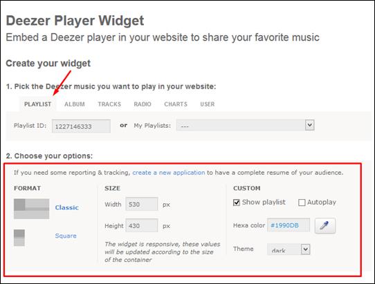 Widget com player para ouvir músicas no seu blog - Visual DicasWidget com player para ouvir músicas no seu blog - Visual Dicas