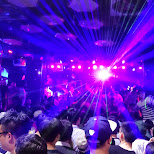club Cocoon in Hongdae in Seoul, Seoul Special City, South Korea