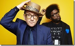 Elvis Costello and Ahmir Thompson