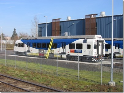 IMG_5015 TriMet Westside Express Service DMU #1003 in Wilsonville, Oregon on January 14, 2009