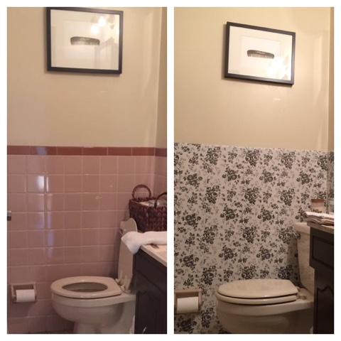 My life on a pbr budget dollar tree bathroom makeover for 6 for Bathroom decor dollar tree